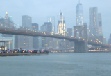 В ночь на понедельник вертолет упал в пролив между Манхэттеном и Бруклином (ВИДЕО)