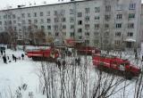 Пожарные спасали людей на пожаре в Вычегодском (ФОТО)