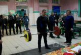 В ИК №4 прошли соревнования по пауэрлифтингу