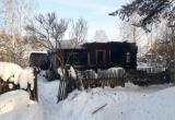 От короткого замыкания сгорела дача в Вычегодском (ФОТО)
