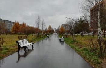 Коряжемский парк Ломоносова участвует в голосовании на лучшую общественную территорию