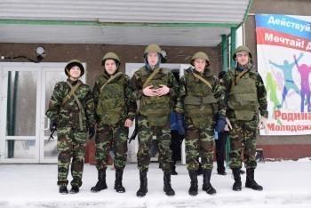 Военно-спортивная эстафета в честь генерала Маргелова прошла в Коряжме